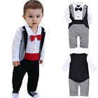100%Cotton Newborn Baby Boy Infant Outfit Romper Jumpsuit Bodysuit Clothes 0-24M
