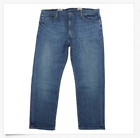 Levi's Men's 505 00505-1723 Regular Straight Leg Jeans Light-Medium Wash 36x32