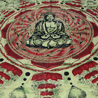 Bedspread Bed Cover Lotus Buddha Dekotuch India Hippie Wall Hanging Om
