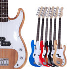 new basswood 4 strings pracitce electric bass guitar 6 colors