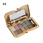 Cosmetic Glitter Eyeshadow Palette Shimmer Eye Shadow Powder Beauty Eye Makeup