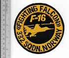 Aerobatic Norway Air Force RNoAF 332nd Squadron Fighting Falcon F-16 Display Tea