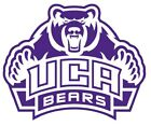 ncaa0803 Central Arkansas Bears logo Die Cut Vinyl Graphic Decal Sticker NCAA