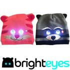 Bright Eyes Animal hats Ultra LED lights Winter Batteries Outdoor Head Torch