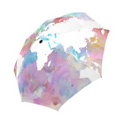 Umbrella, Automatic foldable Umbrella, World Map, World Map umbrella by L.Dumas