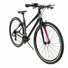 ZF Bikes - Transit Women - Black Hybrid Bike