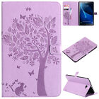 Magnetic Pattern Leather Wallet Card Case Cover For Samsung Tab T580/T350/T280