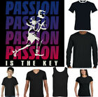 Rugby T-Shirt Mens Funny England Ireland Scotland Wales Ball Kit Passion Player