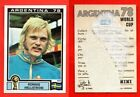 PANINI WC ARGENTINA 78 - stickers at your choice n.205/400 (with original back)
