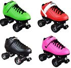 RollerDerby Elite Stomp Factor 5 Roller Skates CHOOSE FROM 4 COLORS & Size 4-11
