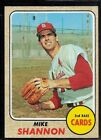 1968 TOPPS BASEBALL ST. LOUISCARDINALS WORLD SERIES MIKE SHANNON CARD #445 EX+
