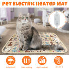 Pet Dog Electric Heated Warm Pad Bed Mat Cat Puppy Heating Whelping Box 35~50°C