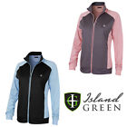 Island Green Womens Golf Full Zip Warm Layer Winter Longsleeve IGLTOP1683