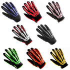 Youth Kids Motorcycle Motocross MX BMX Dirt Bike Racing Sports Skeleton Gloves