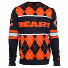 Chicago Bears EXCLUSIVE Argyle Sweater