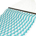 Внешний вид - BCP 2-Person Quilted Double Hammock Bed for Outdoor, Indoor w/ Spreader Bars