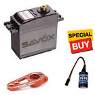 Savox Standard HT Metal Gear Digital Servo w/ Red Alum Horn / Glitch Buster