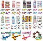 4 x FLYING GLIDERS Childrens Birthday Party Loot Bag Toys Xmas Stocking Fillers