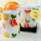 36-70 Tropical Themed Citrus Design Candle - Wedding Shower Party Favors