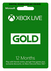 XBOX Live 3-6 or 12-month Gold Subscription Card 🔥Secured Email Delivery 📩