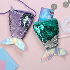 Novetly Womens Girls Children Sequin Coin Purse Fish Tail Mini Wallet Organizers