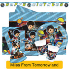 Disney MILES FROM TOMORROWLAND Birthday Party Range Tableware & Decorations (1C)