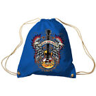 Trend Bag Gym Bag Sports Bag Backpack with Print Rock and Roll 65303 Royal