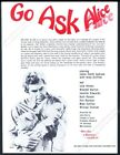 1973 Go Ask Alice movie Andy Griffith Jamie Smith Jackson photo vintage print ad