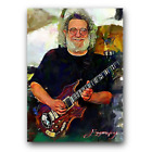 Jerry Garcia #9 Sketch Card Limited 7/50 Edward Vela Signed