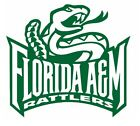 ncaa0971 Florida A&M Rattlers full logo Die Cut Vinyl Graphic Decal Sticker NCAA