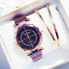 Fashion Luxury Women Starry Sky Watch Magnet Strap Buckle Decoration Gift Tool image
