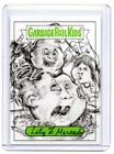 2019 Topps Garbage Pail Kids Lily Mercado One-of-a-kind Sketch Card Real 1/1