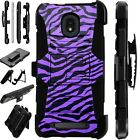 LUXGUARD For Onyx / Feller / Miro Phone Case Holster Cover PURPLE ZEBRA CAMO