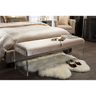 Baxton Studio Hildon Modern and Contemporary Microsuede Fabric Upholstered Luxe