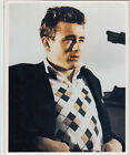 James Dean 8x10 Color Photo in argyle sweater from film East of Eden