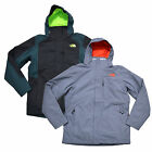 The North Face Mens Jacket Tri-Climate Hooded Zip Up Insulated Snow Winter M New