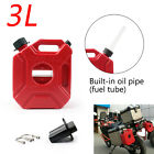3L 5L Car Jerry Cans Gas Diesel Fuel Tank For Motorcycle with Lock+Mounting $29.99 USD on eBay
