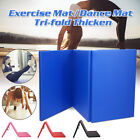 6FT Gymnastics Gym Mat Folding Exercise Panel Aerobics Stretching Yoga Pad US image