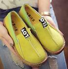 Womens Ladies Flats Pumps Slip On Soft Comfort Casual Loafers Shoes Size 3-5.5
