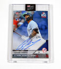 2018 Topps Now All Star Game Autographs Blue Gleyber Torres #AS-44B Auto 35/4