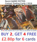 HARRY POTTER Contact Trading Cards   Panini 2019   SELECT YOUR card (1-140)