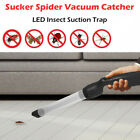 Littel Sucker Spider Vacuum LED Insect Suction Trap Catcher Fly Control Device