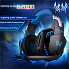 EACH G2000 3.5mm Stereo Gamer Gaming Headset PC Headphones With Mic LED Earphone