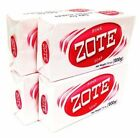 12 Zote Pink Laundry Detergent Stains Soap Bars Catfish Fishing Bait Makeup 7 OZ