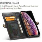 Womens Leather iPhone Xs Max Wallet Case Card Slots Pocket Lanyard Women Wallet
