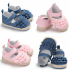 Infant Baby Girl Toddler Bowknot Moccasins Soft Sole Prewalker Shoes