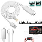 8 Pin Lightning to HDMI Lead TV AV Adapter 2m Cable For iPad iPhone X 6 7 8 Plus