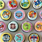 Rescue Bots Mini Edible Icing Cupcake Toppers - PRE-CUT - Sheet of 30 or 48