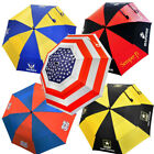 """NEW Hot Z United States & Military Golf Umbrella 62"""" Double Canopy Choose Branch"""