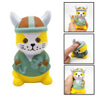3D Squishy Cute Cat Squeeze Sticker Anti-Stress Toy Decor Squeeze Charm Toys